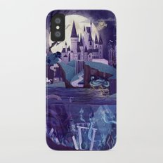 Never a Quiet Year at Hogwarts iPhone X Slim Case