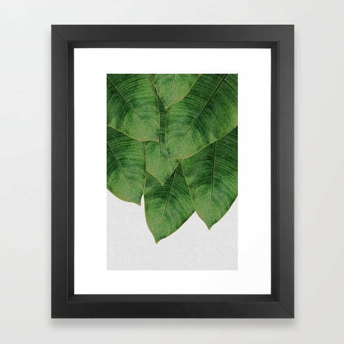 Banana Leaf III Framed Art Print