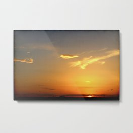 Sunset 041417 Abilene, Texas Metal Print