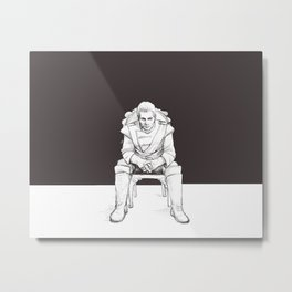 Cullen Rutherford, formal attire Metal Print