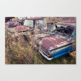 Auto Industrial Complex Canvas Print
