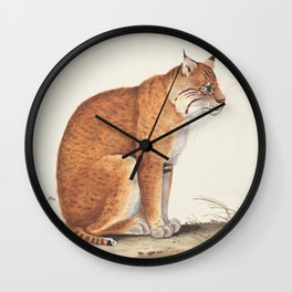 Cat Illustration for cat lovers, Cute Kitty, Purrrfect Wall Clock