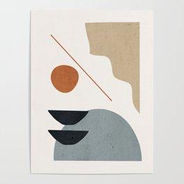 Abstract Minimal Shapes 29 Poster