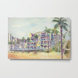 1500 E Ocean Blvd. Long Beach Metal Print