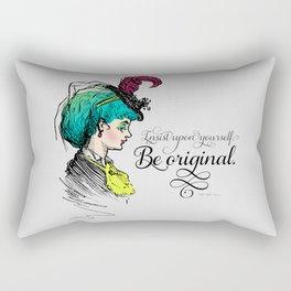 Be original. Rectangular Pillow