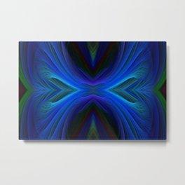Eclectic Blue-1_2 Metal Print