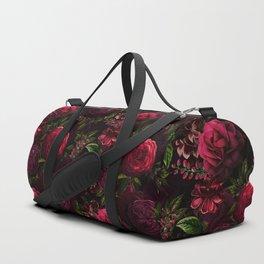 Vintage & Shabby Chic - Vintage & Shabby Chic - Mystical Night Roses Duffle Bag