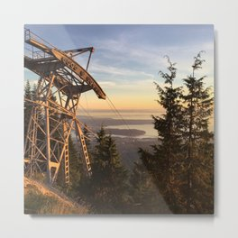 Grouse mountain, Vancouver, Canada Metal Print