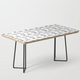 Museum Animals | Dinosaur Skeletons on White Coffee Table
