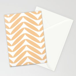Orange Fronds Stationery Cards