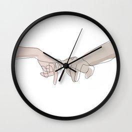 Pinky Shades Wall Clock