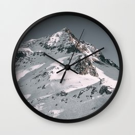 Alps Arcs 1800 France Wall Clock