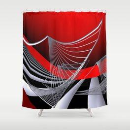 experiments on geometry -11- Shower Curtain