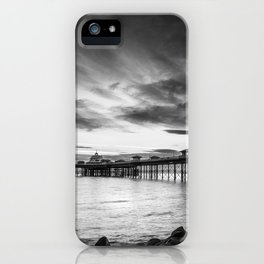Monochrome Pier iPhone Case