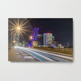 Tampa Concrete Metal Print