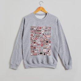 """""""Childhood Memories"""" pixel art poster Crewneck Sweatshirt"""