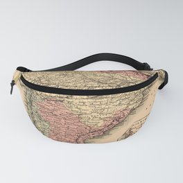 Map Of India 1857 Fanny Pack