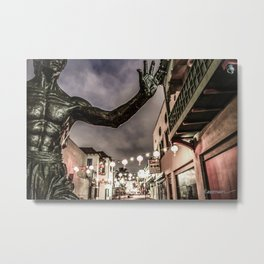 Bruce in Chinatown Metal Print