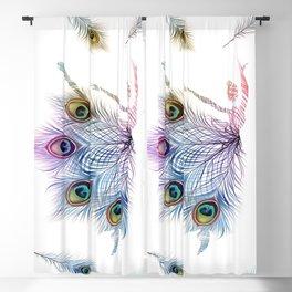 Peacock Dancer Blackout Curtain