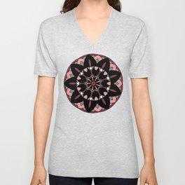 Pink Lotus Unisex V-Neck
