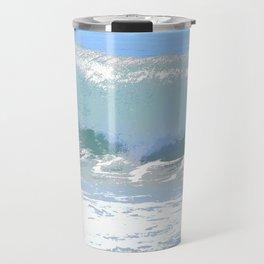 Pastel Wave Travel Mug