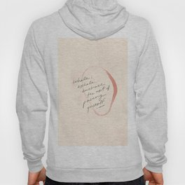 Inhale, Exhale, Embrace The Art Of Pacing Yourself. Hoody