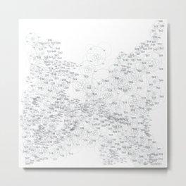 Euclidean Circles-1 Metal Print
