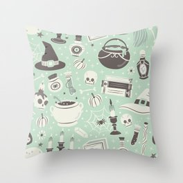 Witchy Vibes Throw Pillow