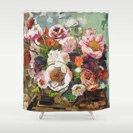 Tin Can Studios Floral 1 Shower Curtain