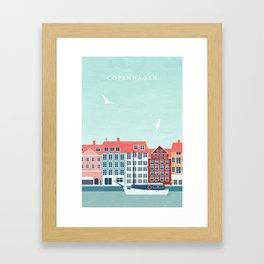 Copenhagen Gerahmter Kunstdruck