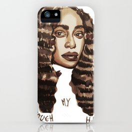 don´t touch iPhone Case