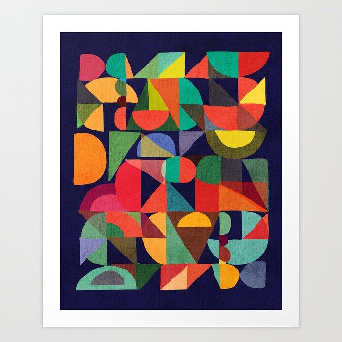Color Blocks Kunstdrucke