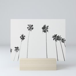 Black & White Palms Mini Art Print