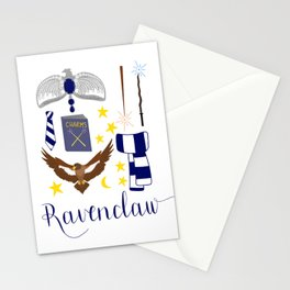 House of Ravenclaw Stationery Cards