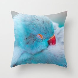 Sleeping Bird Throw Pillow