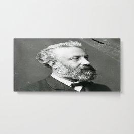 portrait of Jules Verne by Nadar Metal Print