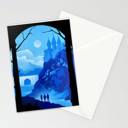 Hogwart Castle Stationery Cards