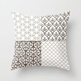 Composición Segovia I. Throw Pillow