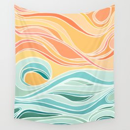 Sea and Sky II Wall Tapestry