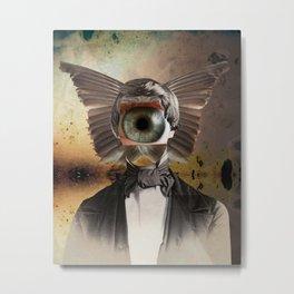 Mr. Insomnia Metal Print