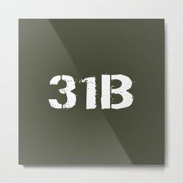31B Military Police Metal Print