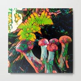 Pebbly Psychedelics Metal Print