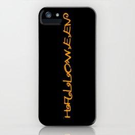 Halloween I iPhone Case