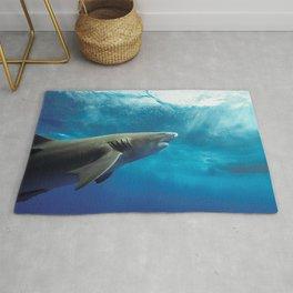 Lemon Shark Rising Rug