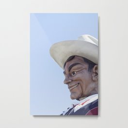 Big Tex 3 Metal Print