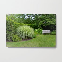 Intentions Whispered Metal Print
