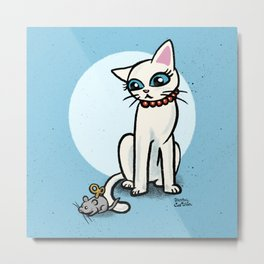 Toy mouse Metal Print
