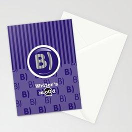 Indigo Writer's Mood Stationery Cards