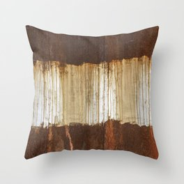 Rust 04 Throw Pillow