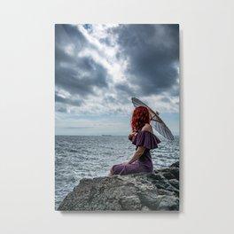 Siren Ashore Metal Print